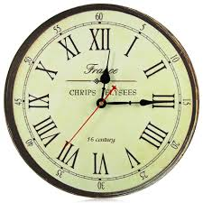 aliexpress com buy best quality large wall clock silent antique