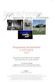 organisatrice de mariage formation formation organisatrice de mariage accueil