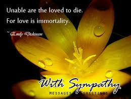 Sympathy Flowers Message - sympathy messages and wishes 365greetings com