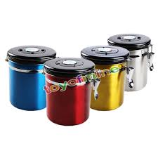 popular metal kitchen canisters buy cheap metal kitchen canisters kitchen container boxes 4 color metal storage food bottles sugar tea coffee beans canisters snack cans