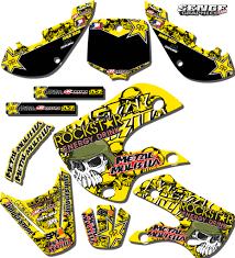 motocross bike graphics 1999 2000 suzuki rm250 rm 250 graphics kit 99 00 decals deco