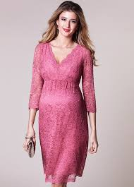 maternity dress lace evening maternity dress in desert by