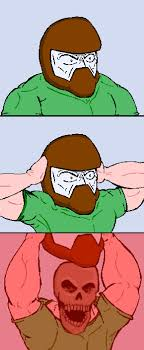 Doom Guy Meme - rip tear album on imgur