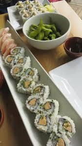 cuisine en cagne sushi rolls and edamame picture of my sushi cagnes sur mer cagnes