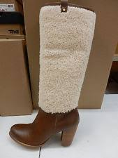 ugg womens boots size 9 ugg womens boots exposed fur chestnut size 9 ebay
