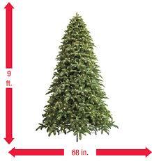 ge 9 ft just cut noble fir ez light artificial tree