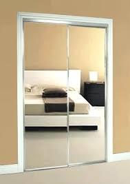 Closet Mirror Door Mirrored Sliding Closet Doors Moutard Co
