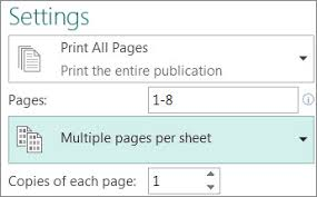 print multiple postcards on a single sheet in publisher publisher