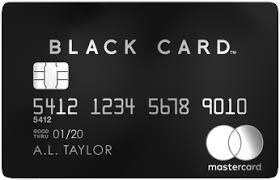 prepaid credit cards no fees mastercard black card