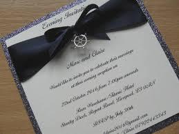 nautical themed wedding invitations wedding invitation nautical themed glitter backed