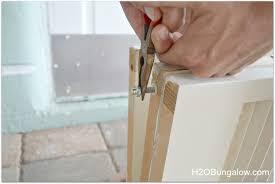 Folding Room Divider Doors Diy Bifold Door Room Divider H20bungalow