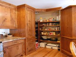 mahogany wood espresso amesbury door corner kitchen pantry cabinet
