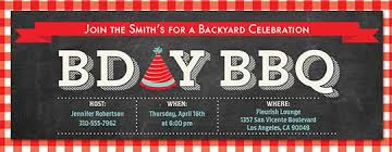 online backyard barbecue bbq invitations evite