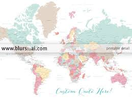 Map States And Capitals by Personalized World Map Printable World Map With Cities Capitals