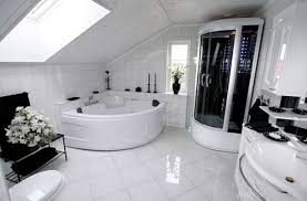 tappeti moderni bianchi e neri bagno bianco e nero foto design mag
