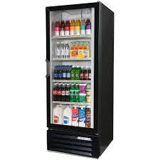 beverage cooler with glass door beverage air lv12 1 b led black lumavue 24