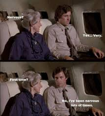 funny airplane scene