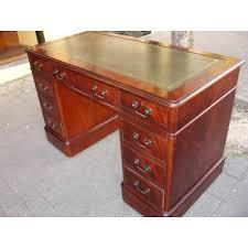 bureau de style style pedestal desk