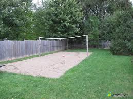 triyae com u003d backyard sand volleyball court various design