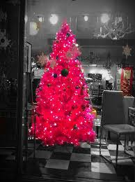 small pink christmas tree and beautiful pink christmas tree for room ideas