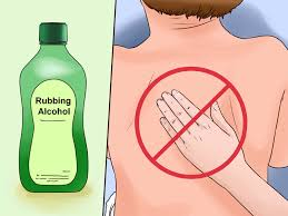 cartoon alcohol bottle 3 ways to use rubbing alcohol wikihow
