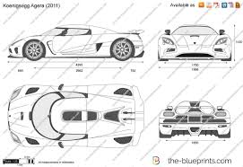 koenigsegg agera r 2017 white the blueprints com vector drawing koenigsegg agera