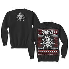 slipknot make ugly christmas sweaters too metal injection