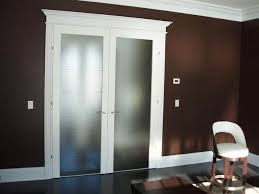 door frosted glass interior french double doors with frosted glass