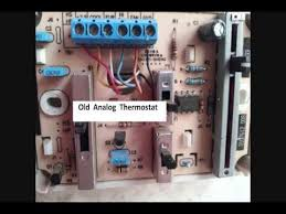 replaceing rv thermostat with honeywell digital thermostat youtube