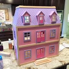 dollhouse makeover pottery barn inspired house of hargrove