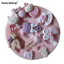 well wreapped bear silicone fondant cake icing sugarcraft