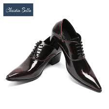 wedding shoes mens christia mens dress shoes high heels leather wedding shoes