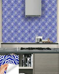 Tile Stickers by 24 Tile Stickers Kitchen Decals Bathroom Peel U0026 Stick Home Decor