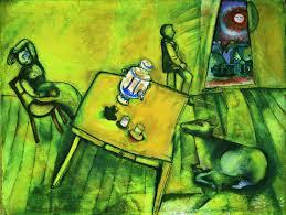 la chambre jaune marc chagall la chambre jaune the yellow room 1911 artsy