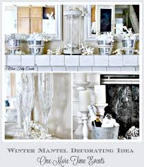 Winter Home Decorating Ideas Winter Mantel Decorating Ideas Non Christmas