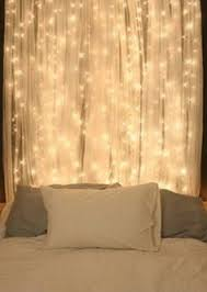 christmas light headboard so doing this in our bedroom cheap