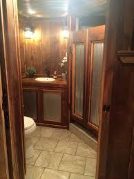 barnwood corrugated metal saloon shower doors corrugated metal