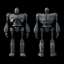 the iron giant the iron giant chose to be articulated in 1000toys sweet action figure