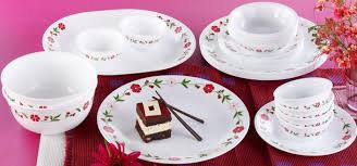 Buy Corelle Dinner Set Online India Corelle Pack Of 20 Dinner Set Price In India Buy Corelle Pack Of
