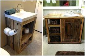 how to build a bathroom vanity build a rustic vanity from