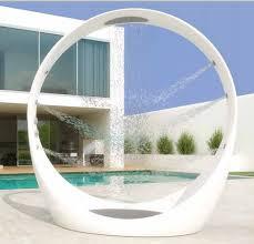 Outdoor Pool Showers - fantastic ideas for outdoor shower enclosure in garden midcityeast