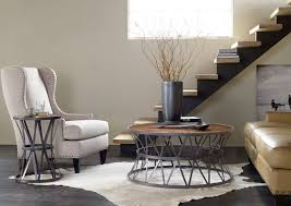 hooker furniture living room chadwick round end table 5434 80116