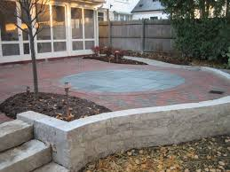 Patio Retaining Wall Pictures Mequon Hardscaping Projects Stone Retaining Walls Fieldstone
