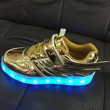 Kids Light Up Shoes Kids Adidas Light Up Shoes Gold Silver Factory