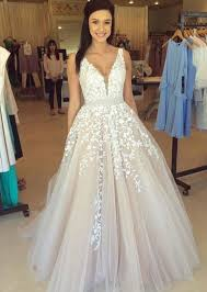 prom style wedding dress 2017 fashion wedding dress prom dresses chagne prom dress