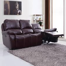 3 Seat Recliner Sofa by Three Seater Iceland Leatherette Power Recliner Sofa 3 Seater Red