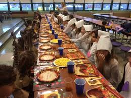 huth road elementary school thanksgiving celebrated
