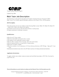 Brand Ambassador Job Description Resume by Resume Tutor Resume Cv Cover Letter