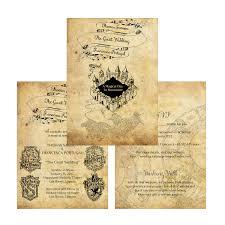 harry potter wedding invitations harry potter wedding invitation diy printable template