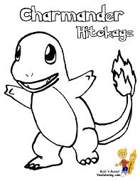 charmander pokemon coloring pages printable image charmander